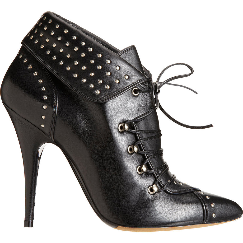 Tabitha Simmons Wicked Studded Black Ankle Boots