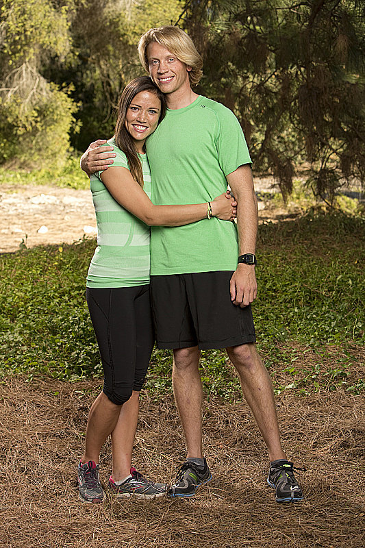 Names: John Erck and Jessica Hoel Connection: Engaged Ages: 28 and 27 Hometowns: Mora, MN, and Eden Prairie, MN Current occupations: iOS developer; sales Previous season: Ninth place in season 22