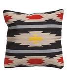 Use this woven cover ($18) to bring tribal patterns into your home.