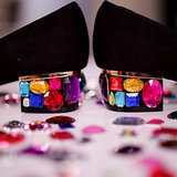 DIY Gemstone Heels!
