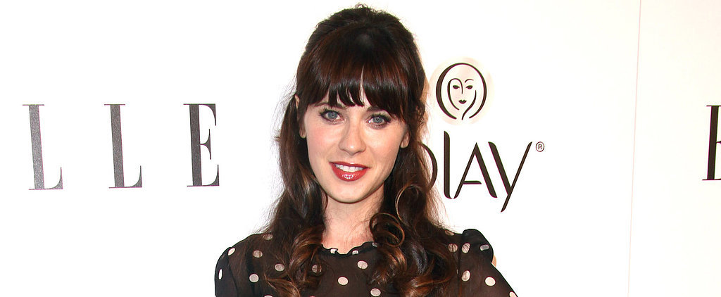 Zooey Deschanel Is Trying Her Hand at Fashion Design