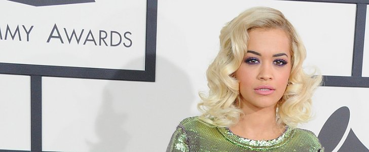 Get Rita Ora's Lanvin-Inspired, Purple Smoky Eye