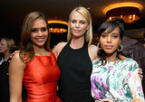 She Parties With Jessica Alba and Charlize Theron