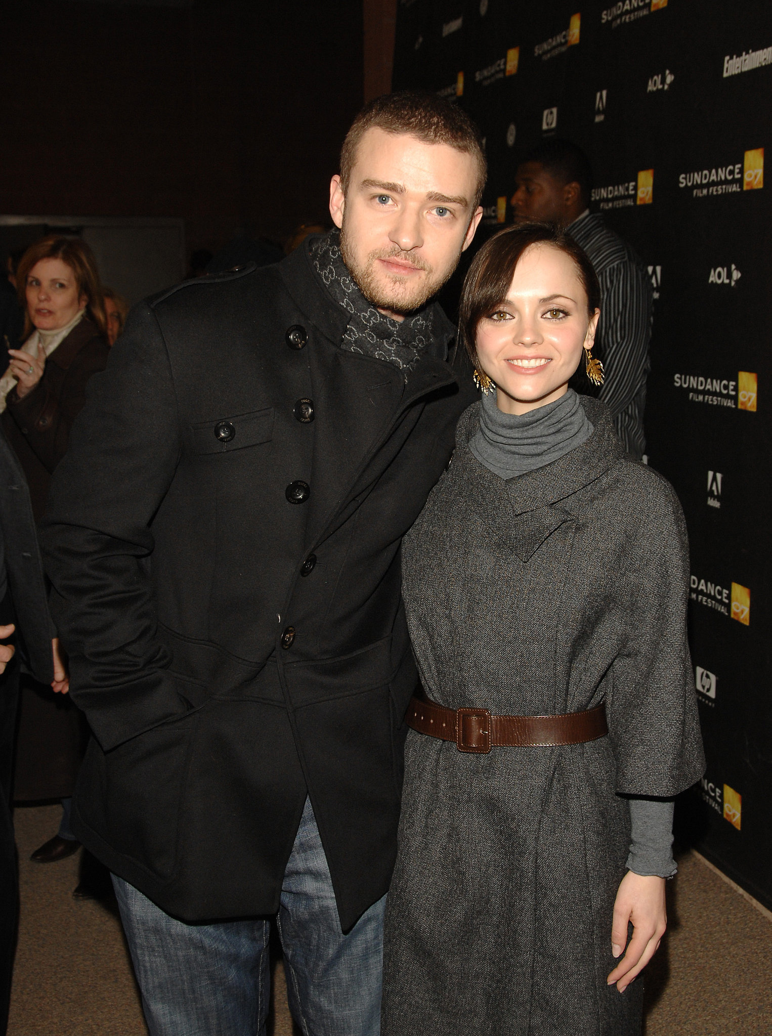 He and Christina Ricci teamed up at the 2007 Sundance Film Fes