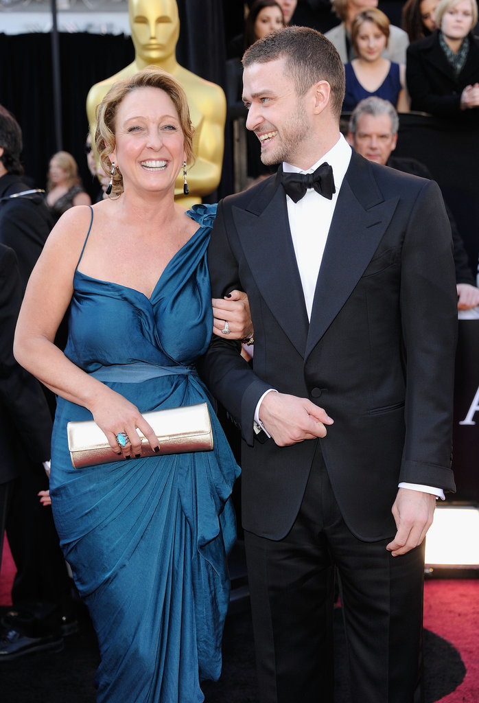 Justin brought his mom, Lynn Harless, as his lovely date to the SAG Awards in February 2011.