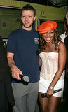 "McDonald's ambassadors Justin and Ashanti paired up to announce the ""I'm Loving It"" campaign in June 2004."