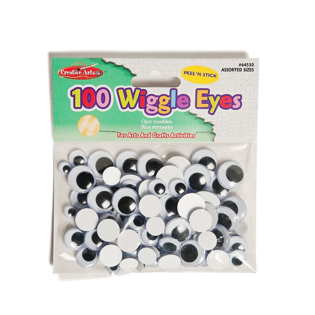 Stick-On Googly Eyes