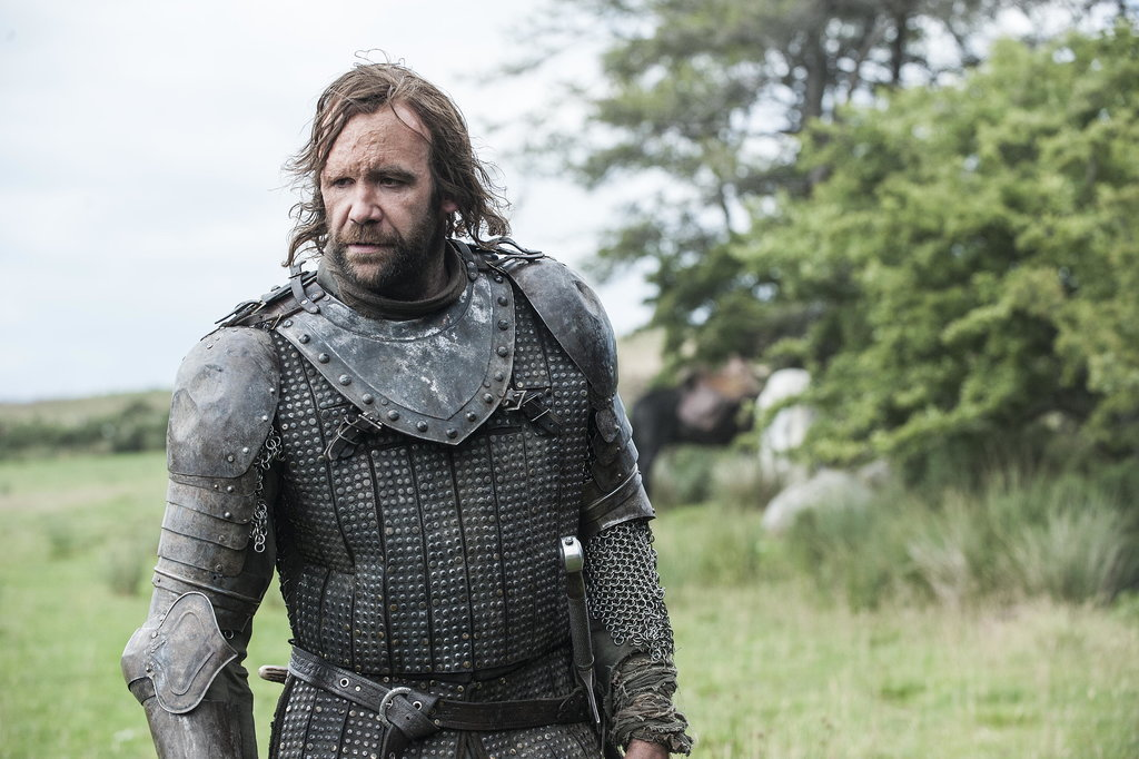 Rory McCann as The Hound.