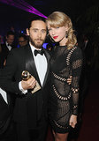 Jared posed with Taylor Swift a Golden Globes afterparty. There's probably a song being written about this very moment as we speak.
