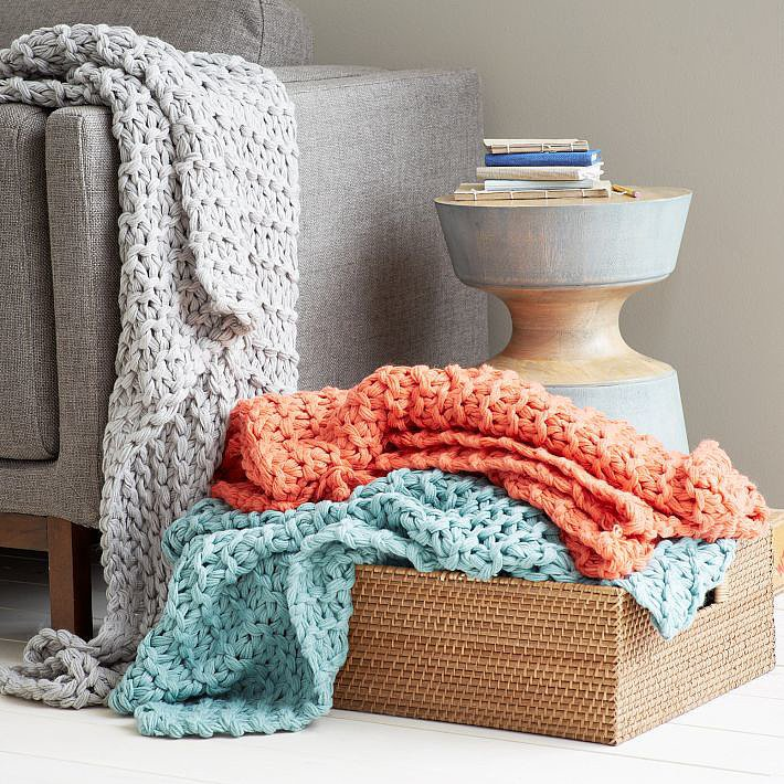 Incorporate a Throw Blanket