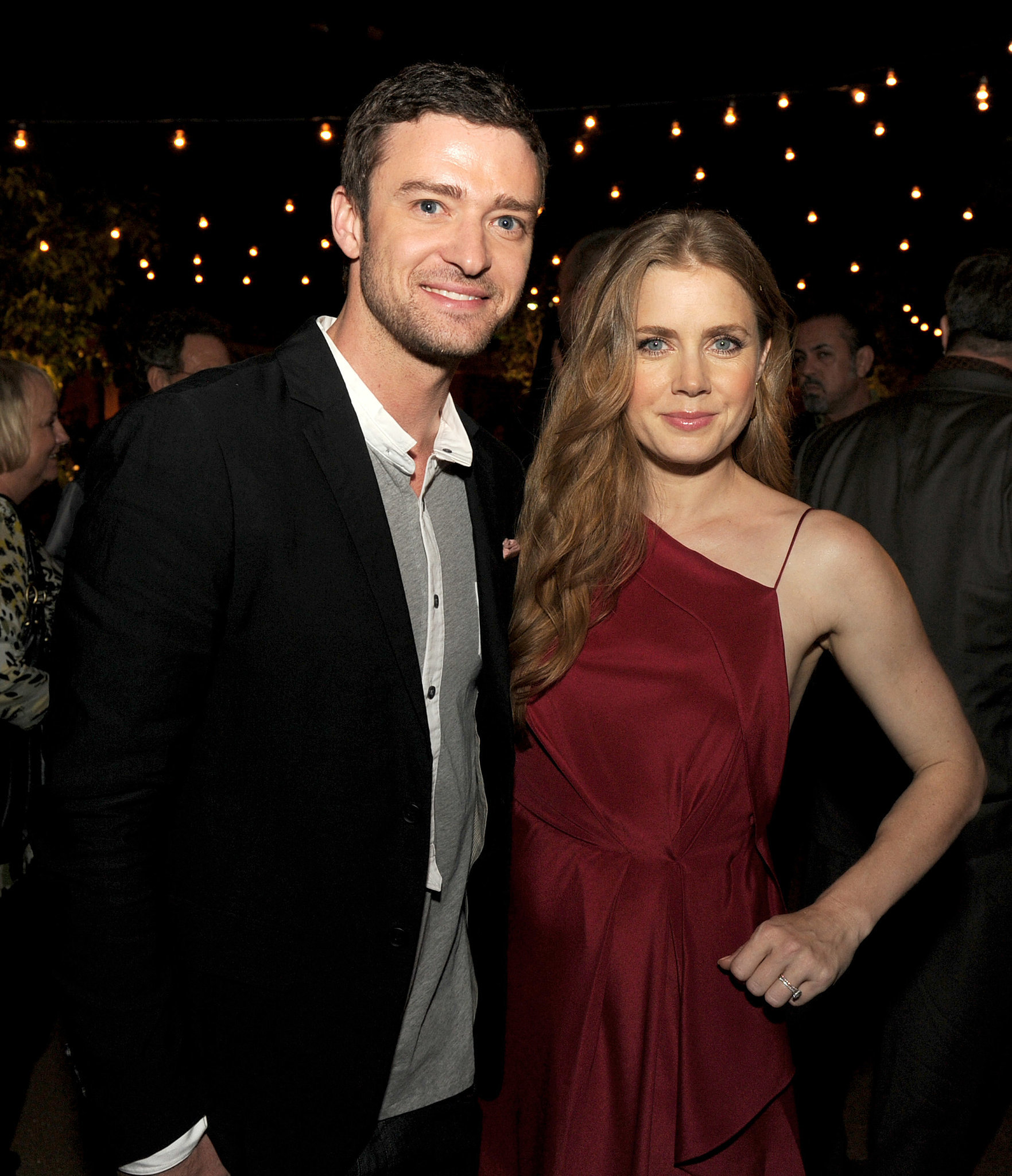 He and Amy Adams posed together at the afterparty for their fi