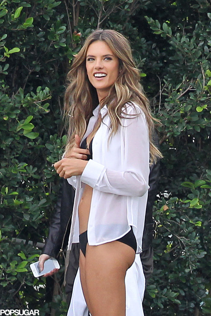 Alessandra, Behati, and Adriana Bring on the Bikinis