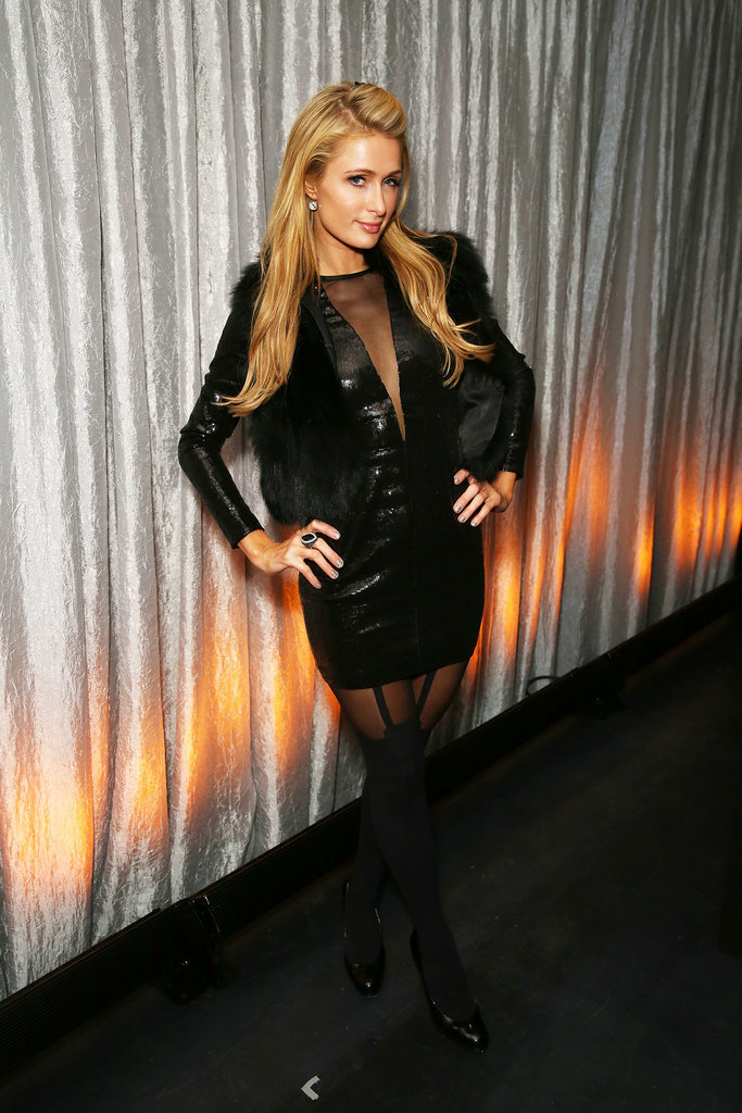 Paris Hilton got glamorous on Thursday when she attended the Ciroc and Bootsy Bellows preparty at the Liquid Cellar.