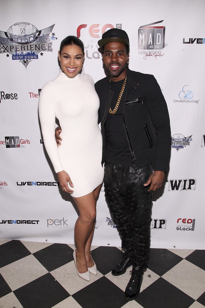 Jordin Sparks and Jason Derulo hosted a pre-Super Bowl bash on Wednesday.