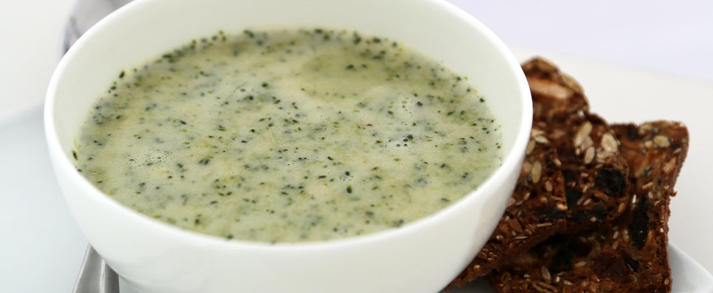 A Broccoli Soup Richened With Greek Yogurt, Not Cream
