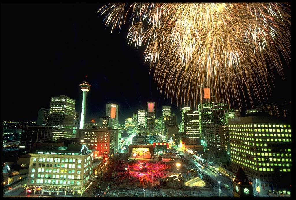 And fireworks took over the streets during the opening ceremony.