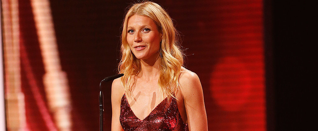 We Can't Help But Feel Inspired by Gwyneth Paltrow's Sequin Dress