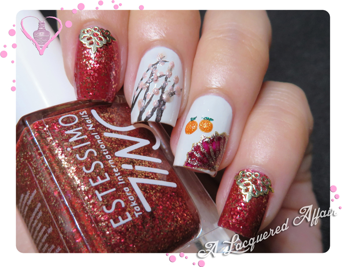 Chinese New Year Inspired Mani 2013