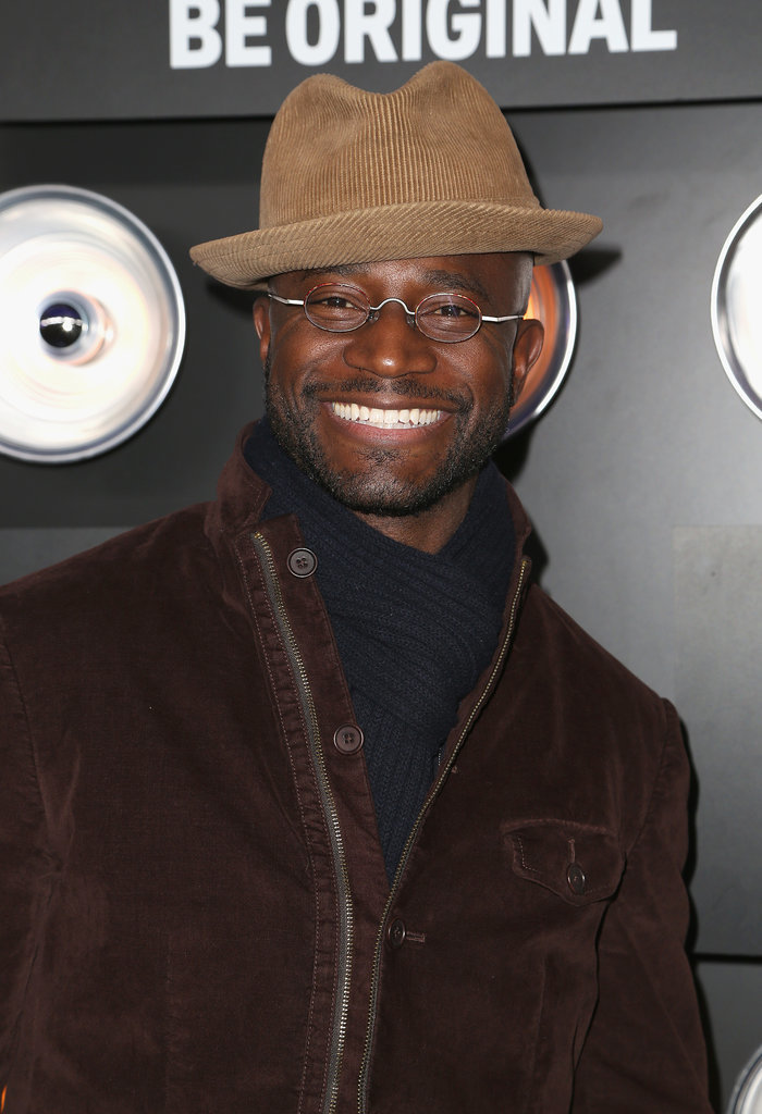 Taye Diggs was all smiles at the Playboy bash.