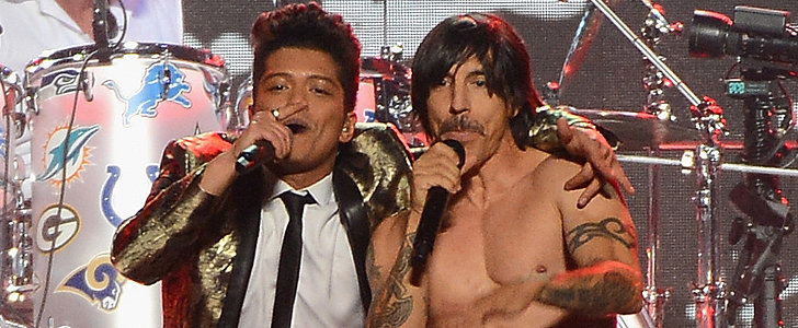 Watch Red Hot Chili Peppers Crash Bruno Mars's Halftime Show