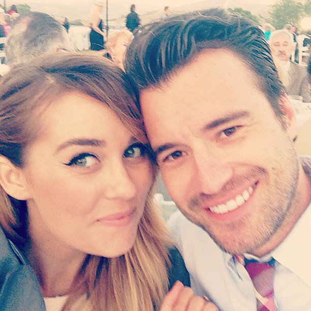A year a half after meeting her boyfriend William Tell, Lauren shared this cute snap with her followers. Source: Instagram user laurenconrad