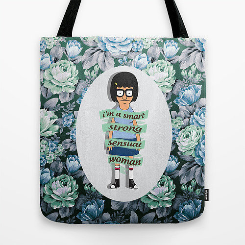 Give this Tina tote bag ($22) to all the smart, strong, sensual women in your life.