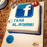 When 61-Year-Olds Celebrate With a Facebook Cake