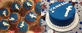 Facebook Cake Is Totally Appropriate on Its 10th Birthday