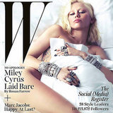 Miley Cyrus W Magazine Cover