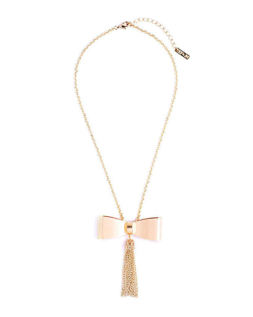Erin Fetherston for JewelMint Tie and Tassle Necklace ($30)
