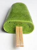 Avocado Green Tea Popsicles