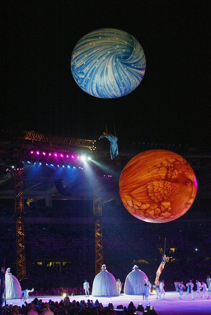But seriously, let's get back to these giant spheres.
