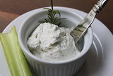 Lightened-Up  Goat Cheese Spread