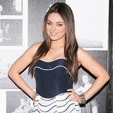 Mila Kunis Navy Dress