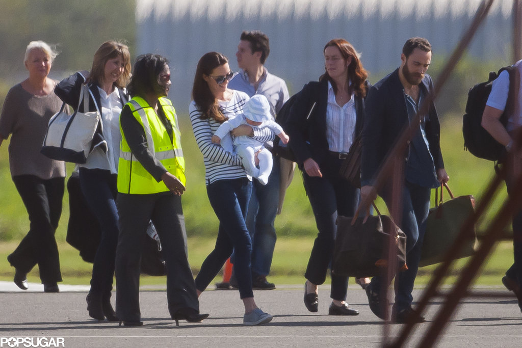 Prince George Takes His First Family Vacation