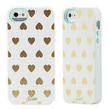 Heart of gold iPhone 5/5S case ($40)