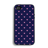 Blue and pink heart iPhone case ($16)