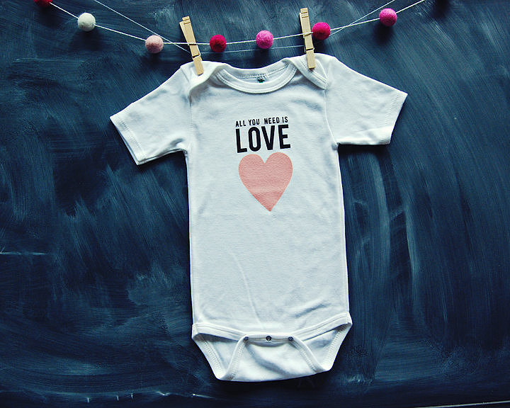 Show a Little Love on Baby's First Valentine's Day