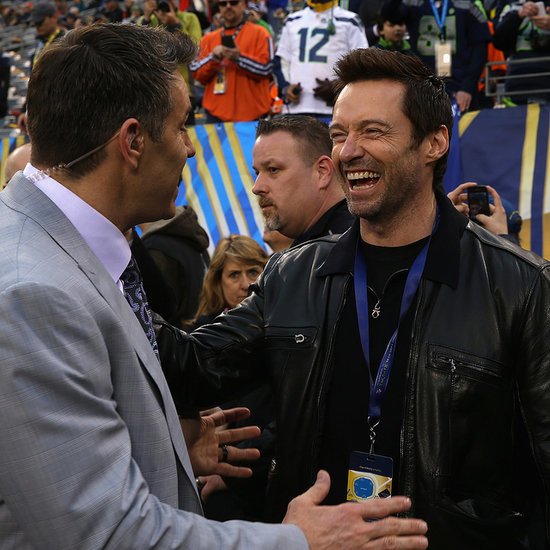 Celebrities at 2014 Super Bowl