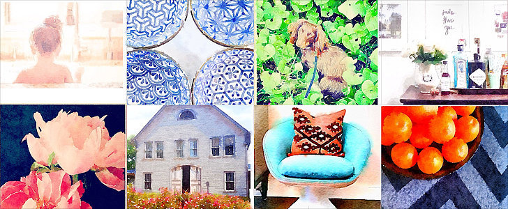 20 Decor Shots That Deserve a Watercolor App