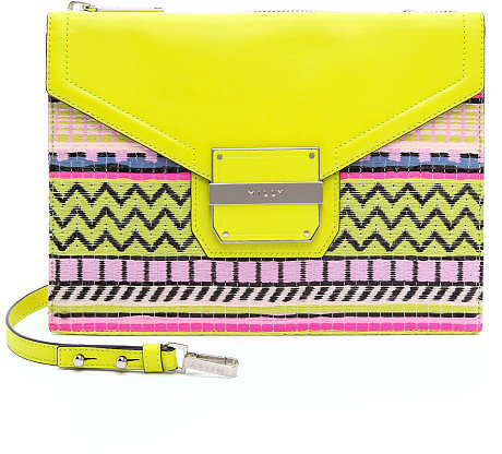 Milly Rich Neon Jacquard Crossbody Bag ($325)