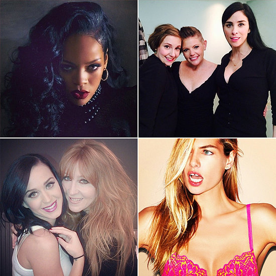 Celebrity Beauty Instagrams | Feb. 6, 2014