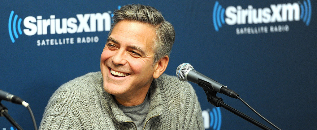 George Clooney Has a Seriously Big Prank Planned For Amy and Tina