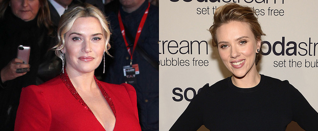 Kate Winslet and Scarlett Johansson Go Makeup-Free