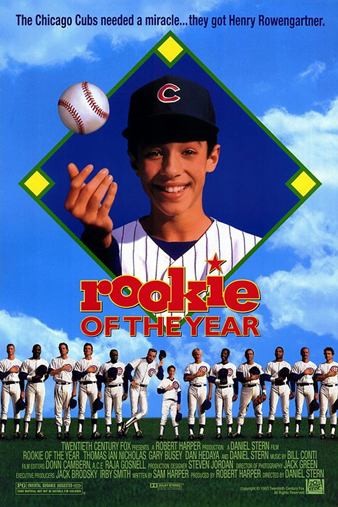 Rookie Of The Year Movie Kid-Friendly Sports Mo...
