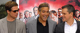 Clooney Punks Brad, Matt, Amy, and Tina — See His Best Pranks!