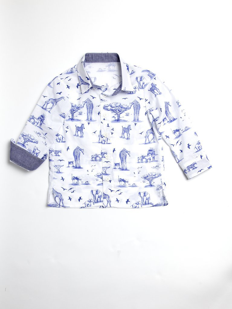 Toile Button-Down Shirt