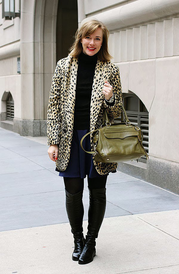 Congrats, Tracy! Let's hear it for leopard print!