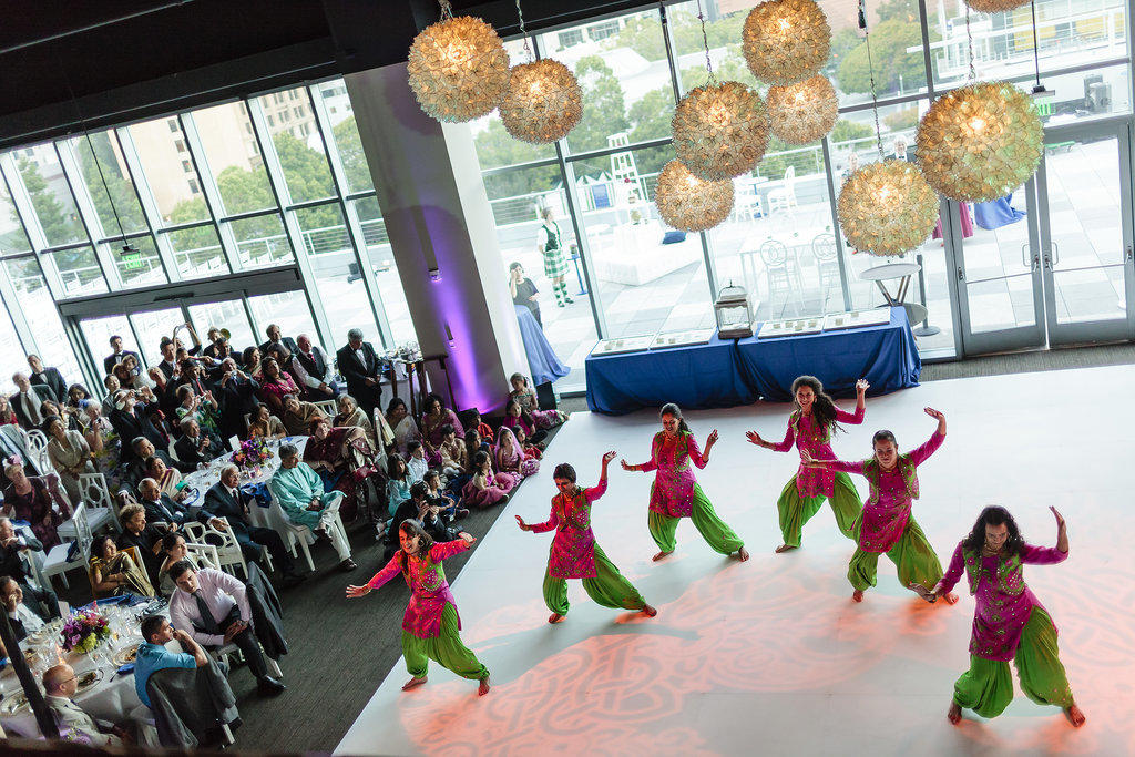 Bollywood dancers performed as well. Photo by Chrisman Studios
