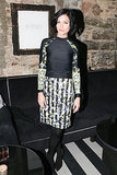 Leigh Lezark at Made's New York Fashion Week party.